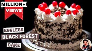 Black Forest Cake in Pressure Cooker