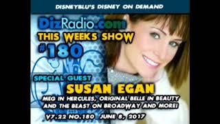 Susan Egan on DisRadio.com (2017)