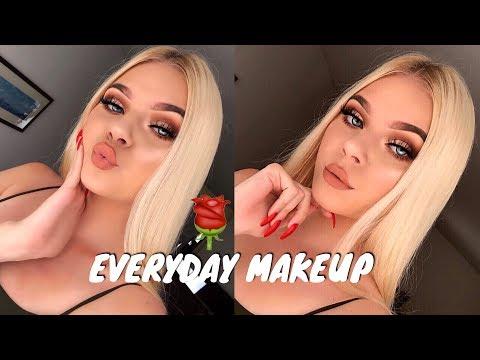 EVERYDAY FALL GLOWY GLAM Makeup Tutorial   Tina Halada