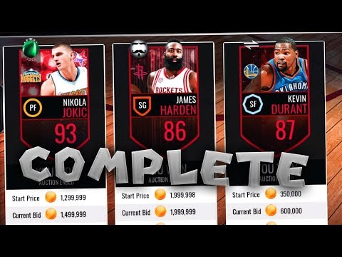COMPLETING A FULL RARE FRANCHISE IN NBA LIVE MOBILE!!