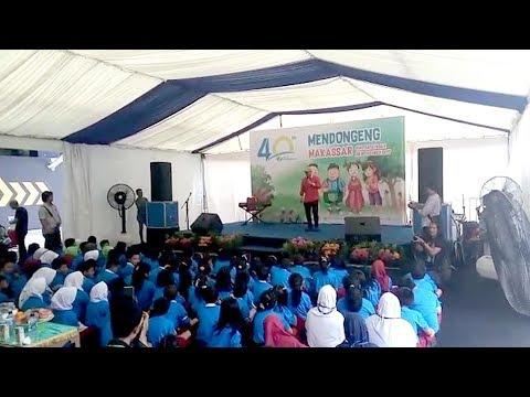 BPJS Ketenagakerjaan Mendongeng Bersama 100 Siswa di Makassar