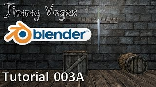 How To Use Blender For Beginners - Tutorial Part 003A - How The RPG Quest Board Was Made