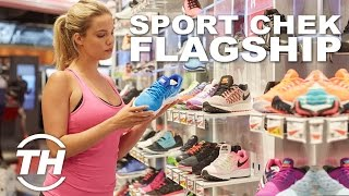 Futuristic Sporting Goods Stores | Sport Chek Flagship