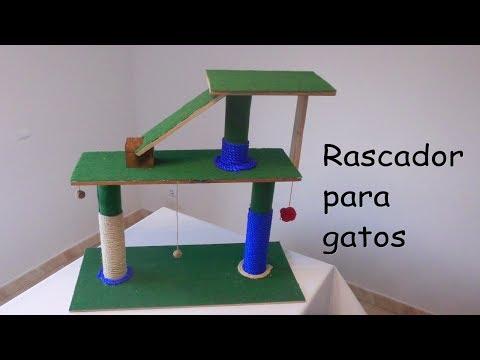 Como Hacer Un Rascador Para Gatos Casero