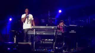 Dave Chappelle love rap  with Stevie Wonder 8-30-18