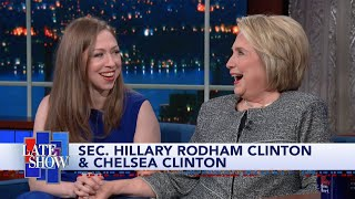 "The former Secretary of State, and author of 'The Book of Gutsy Women' with daughter Chelsea Clinton, explains that America's founders created the impeachment option for exactly this kind of situation: when a president attempts to subvert the Constitution.  Subscribe To ""The Late Show"" Channel HERE: http://bit.ly/ColbertYouTube For more content from ""The Late Show with Stephen Colbert"", click HERE: http://bit.ly/1AKISnR Watch full episodes of ""The Late Show"" HERE: http://bit.ly/1Puei40 Like ""The Late Show"" on Facebook HERE: http://on.fb.me/1df139Y Follow ""The Late Show"" on Twitter HERE: http://bit.ly/1dMzZzG Follow ""The Late Show"" on Google+ HERE: http://bit.ly/1JlGgzw Follow ""The Late Show"" on Instagram HERE: http://bit.ly/29wfREj Follow ""The Late Show"" on Tumblr HERE: http://bit.ly/29DVvtR  Watch The Late Show with Stephen Colbert weeknights at 11:35 PM ET/10:35 PM CT. Only on CBS.  Get the CBS app for iPhone & iPad! Click HERE: http://bit.ly/12rLxge  Get new episodes of shows you love across devices the next day, stream live TV, and watch full seasons of CBS fan favorites anytime, anywhere with CBS All Access. Try it free! http://bit.ly/1OQA29B  --- The Late Show with Stephen Colbert is the premier late night talk show on CBS, airing at 11:35pm EST, streaming online via CBS All Access, and delivered to the International Space Station on a USB drive taped to a weather balloon. Every night, viewers can expect: Comedy, humor, funny moments, witty interviews, celebrities, famous people, movie stars, bits, humorous celebrities doing bits, funny celebs, big group photos of every star from Hollywood, even the reclusive ones, plus also jokes."