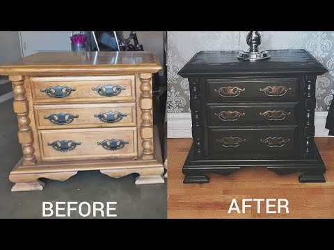 DIY | PAINTING MY FURNITURE