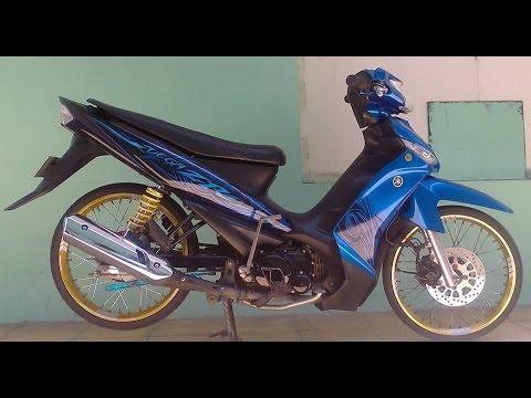 Video Motor Trend Modifikasi   Video Modifikasi Motor Yamaha Vega R Velg Jari-jari Terbaru Part 2