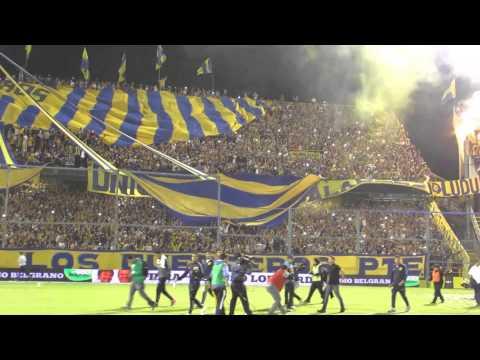 """""""Rosario Central - Colón. Recibimiento desde adentro."""" Barra: Los Guerreros • Club: Rosario Central"""