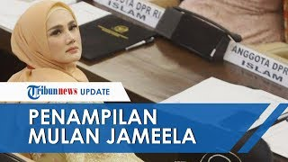 Penampilan Tak Biasa Mulan Jameela dalam Acara Pelantikan Presiden dan Wakil Presiden 2019