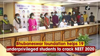 Bhubaneswar foundation helps 19 underprivileged students to crack NEET 2020 - Download this Video in MP3, M4A, WEBM, MP4, 3GP