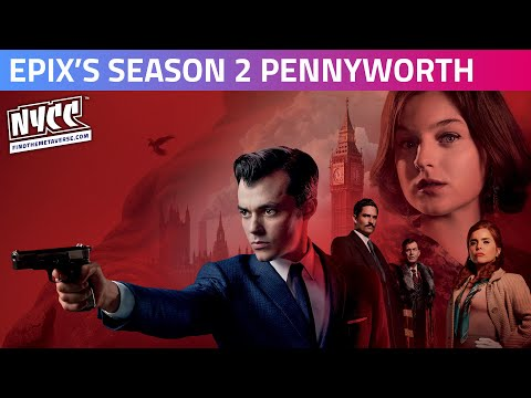 At Your Service -  EPIX's Season Two Pennyworth Cast & Producer Panel