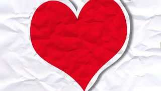 The All-American Rejects- Paper Heart(motion graphic)