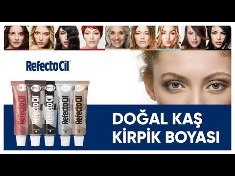 RefectoCil Kaş ve Kirpik Boyası No:4 Kestane 15ml