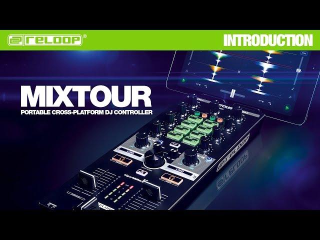 Sleek & Powerful: MIXTOUR for djay (iOS / Android / Laptop)