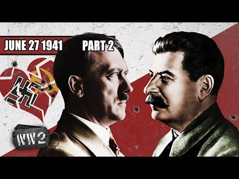 Útok na Sovětský svaz – Operace Barbarossa - Druhá světová válka