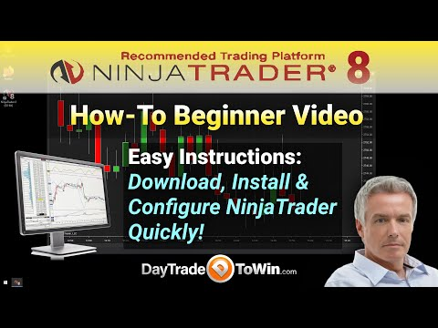 How to Setup NinjaTrader 8 - Complete Start - Beginner's Setup ...