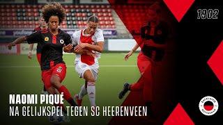 ⚖️ Naomi Piqué na gelijkspel tegen SC Heerenveen Vrouwen   '?? ??? ????? ?? ??? ????'