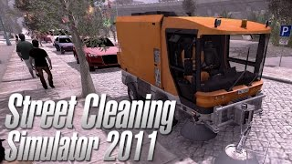 Simulator Games - Street Cleaning Simulator