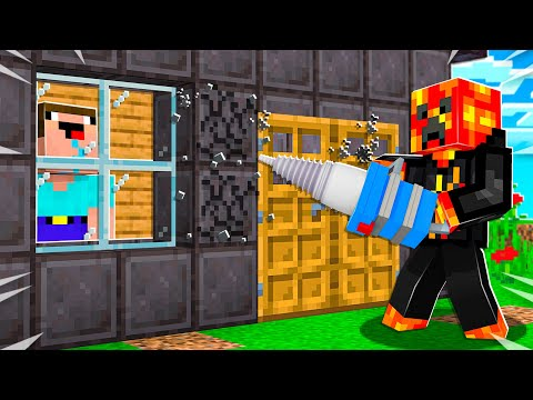 7 Ways to BREAK into Noob1234's Minecraft House!