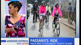 Esther Passaris: Why I choose to ride on a bicycle | Weekend Express