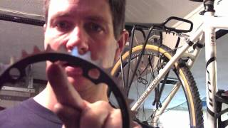 Change Chainrings without removing crank