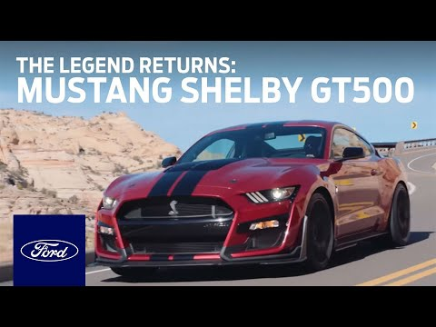 Ford Mustang Shelby® GT500®: The Legend Returns