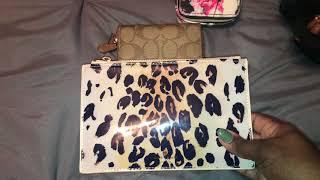 What's in my Kipling S Seoul Backpack- color black