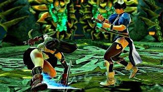Soul Calibur 6 - Chun-Li vs Tifa Gameplay (1080p 60fps)