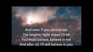 Ronan Keating - Believe ( Lyrics )