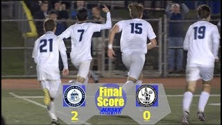 Christian Brothers - 2 Bishop Eustace - 0 | Non-Public A South Final | Boys Soccer