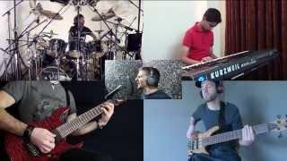"""Dream Theater - """"The Mirror"""" - SPLIT SCREEN Cover"""