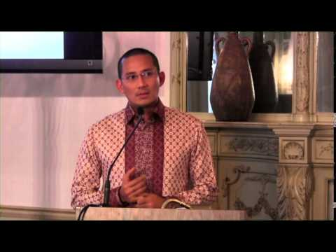 Mr. Sandiaga S. Uno - Lecture - Indonesian Embassy, Washington DC