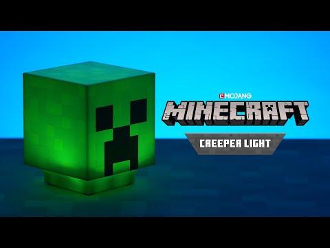 Mini Lampka Minecraft: Creeper