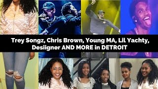 BIG SHOW AT THE JOE CONCERT  Trey Songz Chris Brown Lil Yachty And More