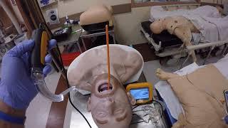 Copilot Video Laryngoscopy. Coffin Supine positioning. Bougie Troubleshooting