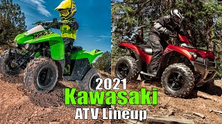 2021 Kawasaki ATV Lineup FIRST LOOK