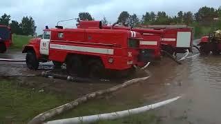 Набережные Челны .Потоп на БСИ 09.08.2018