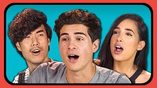 YOUTUBERS REACT TO DANCING HOT DOG SNAPCHAT MEMES