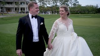 Caroline & Jeff Married at the Sea Pines Resort