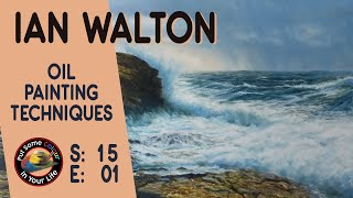 Colour in your life Presents:                   'Fine Art Tips With Ian Walton'