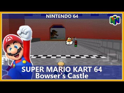 Super Mario Kart 64 - Bowsers Castle (Nintendo 64
