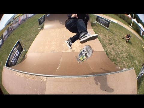 Messing Around on the Vans Pro Skate Park Series Mini Ramp at Malmo