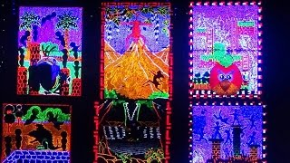 preview picture of video 'Colourful LED Lighting At Chandannagar Jagaddhatri Puja 2014 - Part 2'