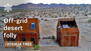 Forsaken Joshua Tree hut becomes off-grid folly for stargazing
