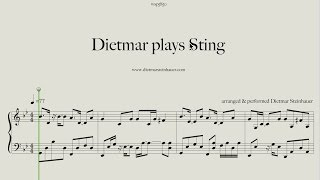 Dietmar plays Sting