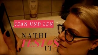 Nathi Test#s It - Jean and Len - Pflegespühlung   LaBelleLouve