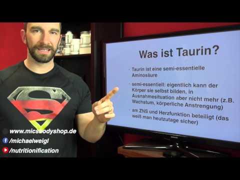Was kann: Taurin