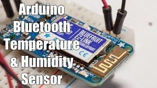 Arduino Bluetooth Temperature & Humidity Sensor