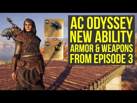Assassin's Creed Odyssey DLC Episode 3 NEW ABILITY, Armor & Weapons (AC Odyssey DLC)